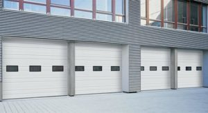 H-225P and H-224P Commercial Garage Doors
