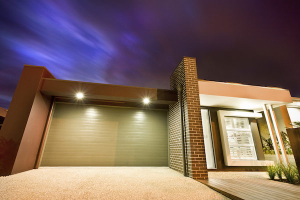 Garage Door Lighting and Curb Appeal