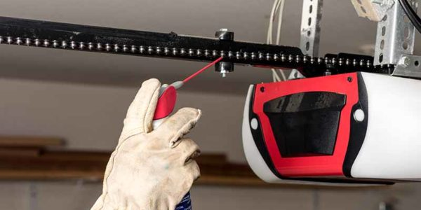 How to Lubricate a Garage Door Properly