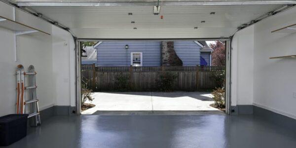 Solutions to a squeaky garage door