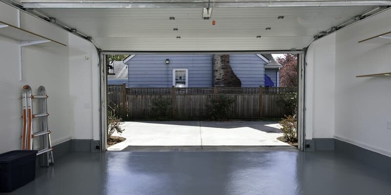 Solutions to a squeaky garage door