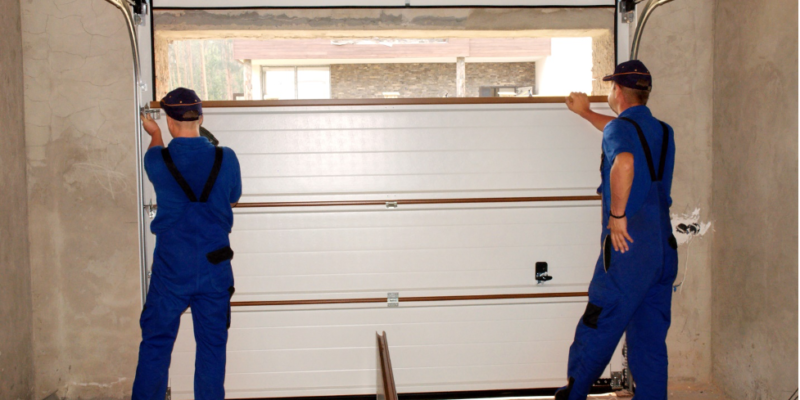 How often should a garage door be serviced